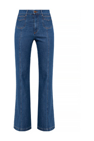 Jeans with flared legs