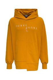 Hoodie with Front Logo Print