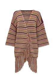 Cardigan with Fringes