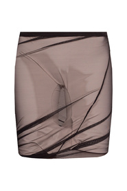 Two-layered shorts with mesh