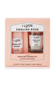 I Love Miniature Pamper Giftset English Rose