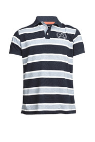 ALLOVER STRIPE POLO