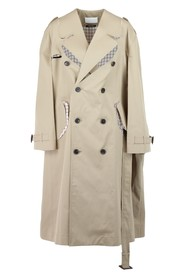 dissected trench coat