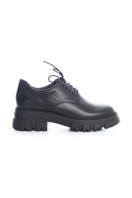 HIGH SOLE LACE UP SHOES