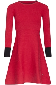 Smashed Lemon 19686 Knit dress Rood Millen