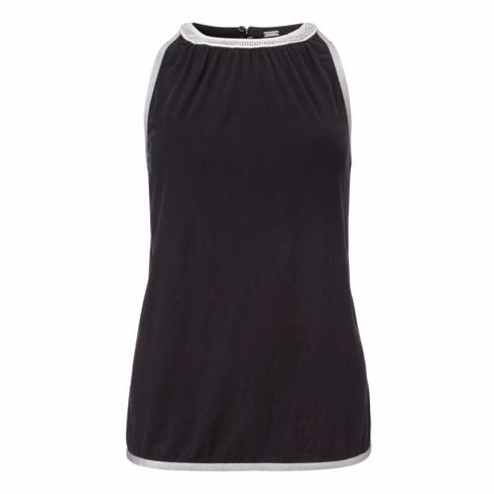 A-Shaped Halter Neck Top