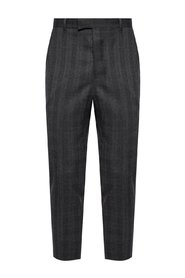 'Foxley' pleat-front trousers
