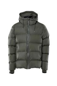 Dark Green Puffer Jacket Jacket