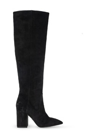 'Willa' heeled leather boots
