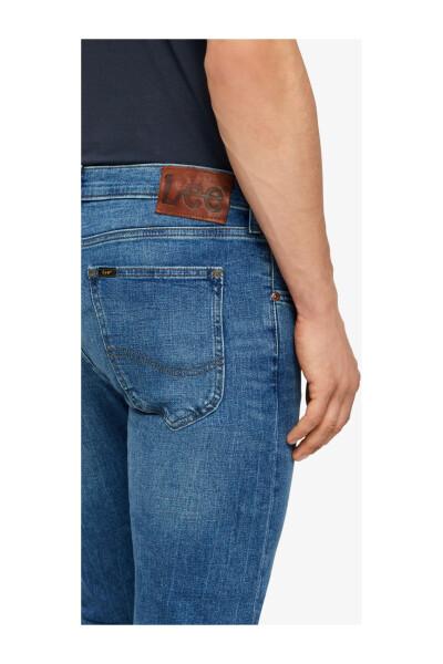 Lee Blue Luke Fresh-jeans Regular Fit Jeans - Blauw