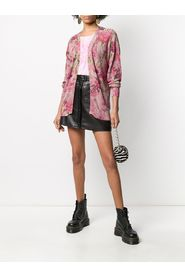 FLOWER LUREX CARDIGAN