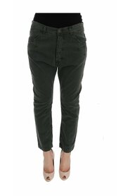 High Waist Cropped Jeans