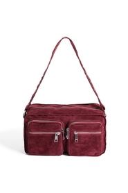 Celia Red Crossover Bag