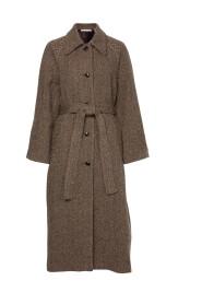 Margaux Herringbone Coat