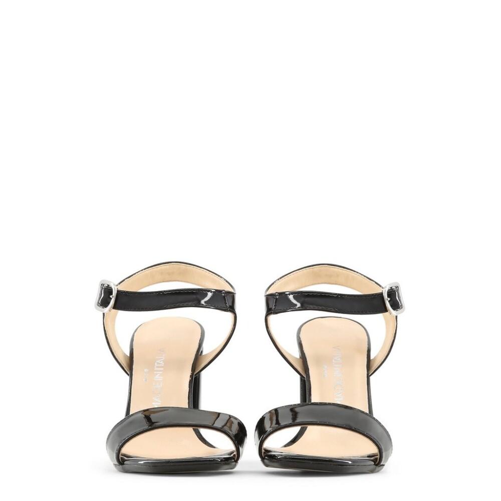 Black ANGELA Sandals | Made in Italia | High Heel Sandals | Women's shoes