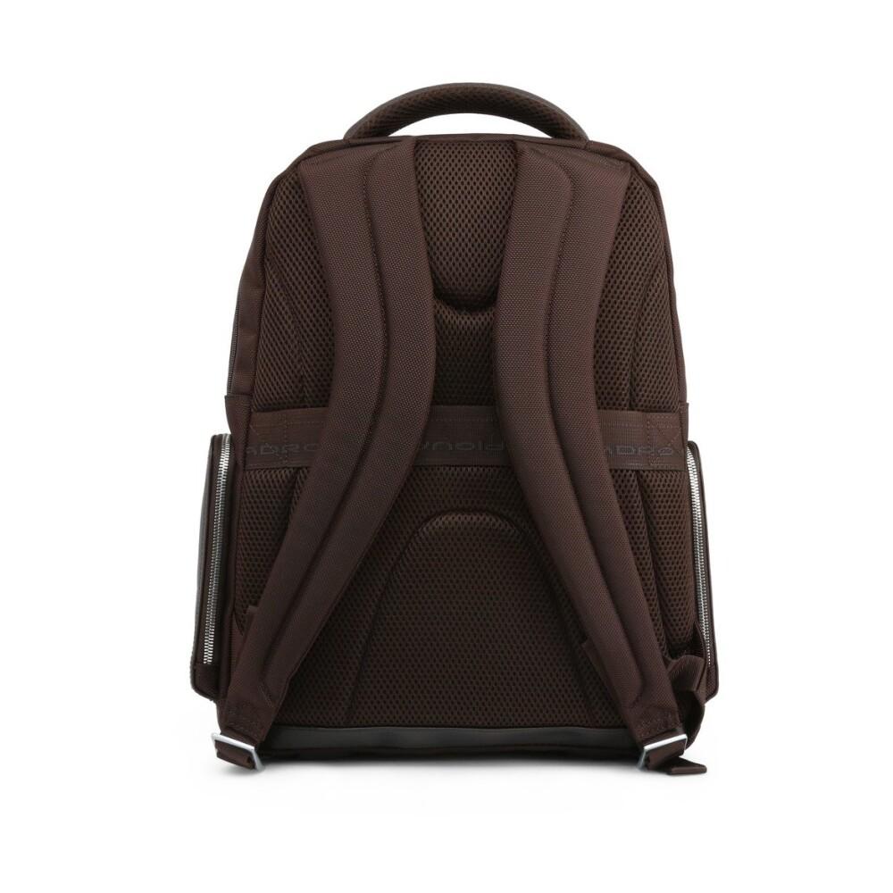 brown Backpack CA1813LK2   Piquadro   Rugzakken   Herentassen