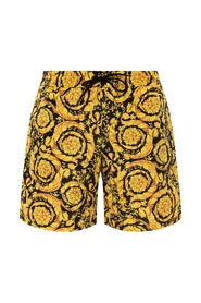 Barocco-printed swim shorts