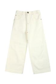 Dżinsy o prostym kroju