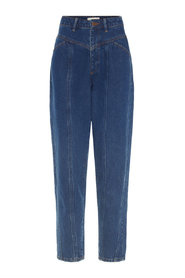 Jeans High-Waisted Carrot Fit