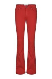 Marija flare color trousers