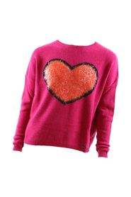 Sweater with heart