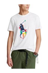 Custom Slim Fit Big Pony Jersey T-Shirt