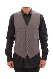 Slim Fit Button Front Vest