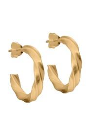 Gull  Vina Hoops Smykker