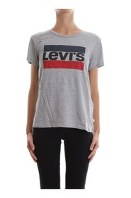 LEVIS 17369 THE PERFECT TEE SPORT T SHIRT AND TANK Women GREY