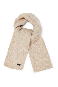 W BOUCLE SCARF