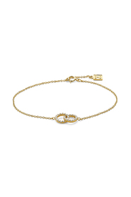 Armband in 18kt plaqué goud