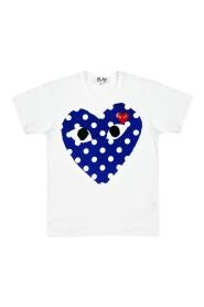 POLKA DOT HEART T-SHIRT