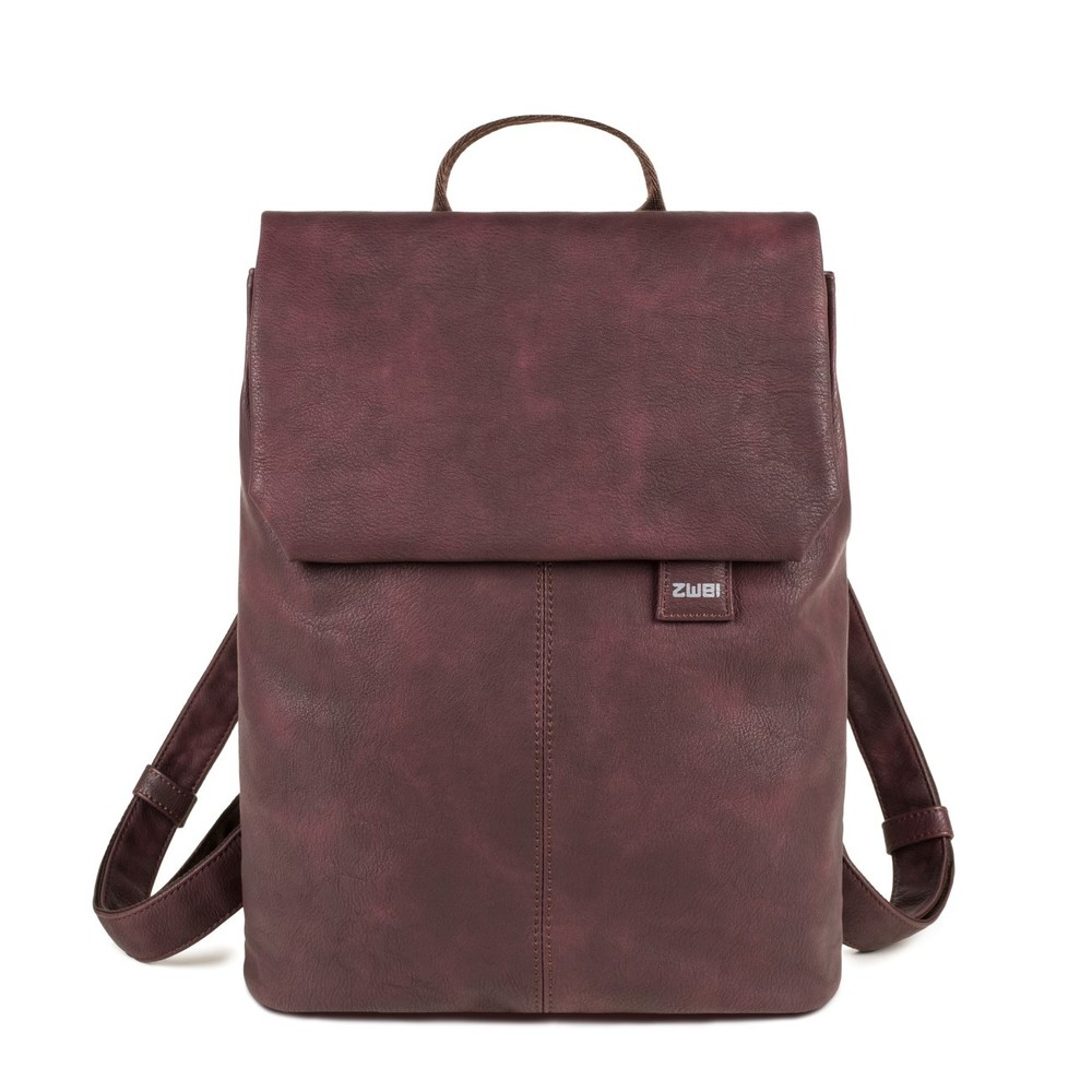 Mademoiselle Backpack wine red