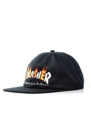 CAPPELLO SNAPBACK FLAME MAG