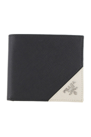 Pre-owned Saffiano Bifold Wallet