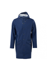 Rains - Long Jacket klein blue