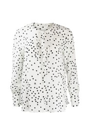 Albano Frilled Spotted Shirt
