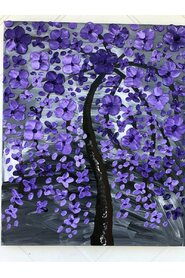 Purple painting