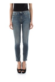 CALVIN KLEIN JEANS J20J208030 - 011 MID RISE JEANS Women DENIM MEDIUM BLUE