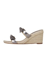 Clarita Braided Wedge espadrilles