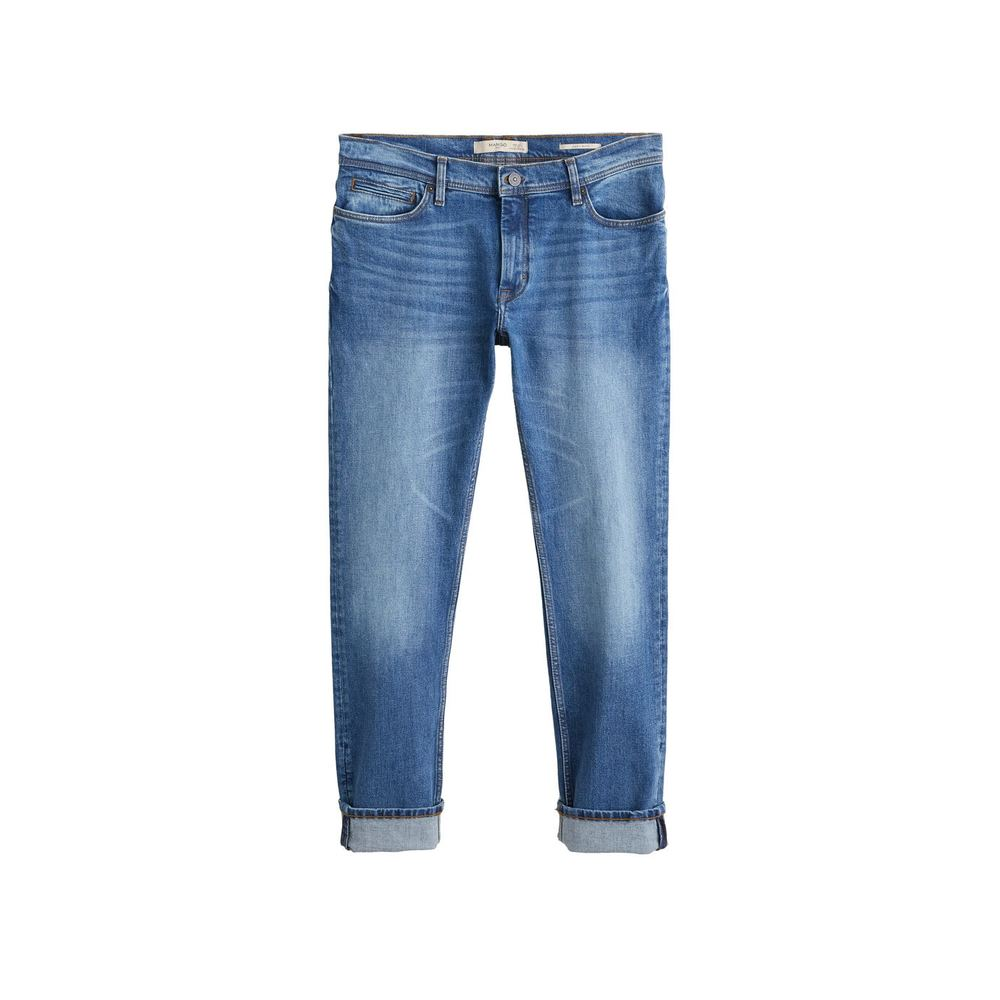 Jeans slim fit medium vask, Jan