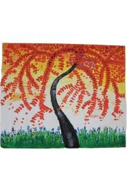 Maleri med blade