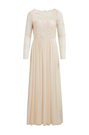 Vigeorgious maxi dress Peach blush - Vila