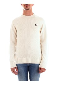 FRED PERRY K7501 JERSEY Men WHITE