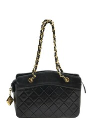 Pre-owned Diamond Charm Small Tote