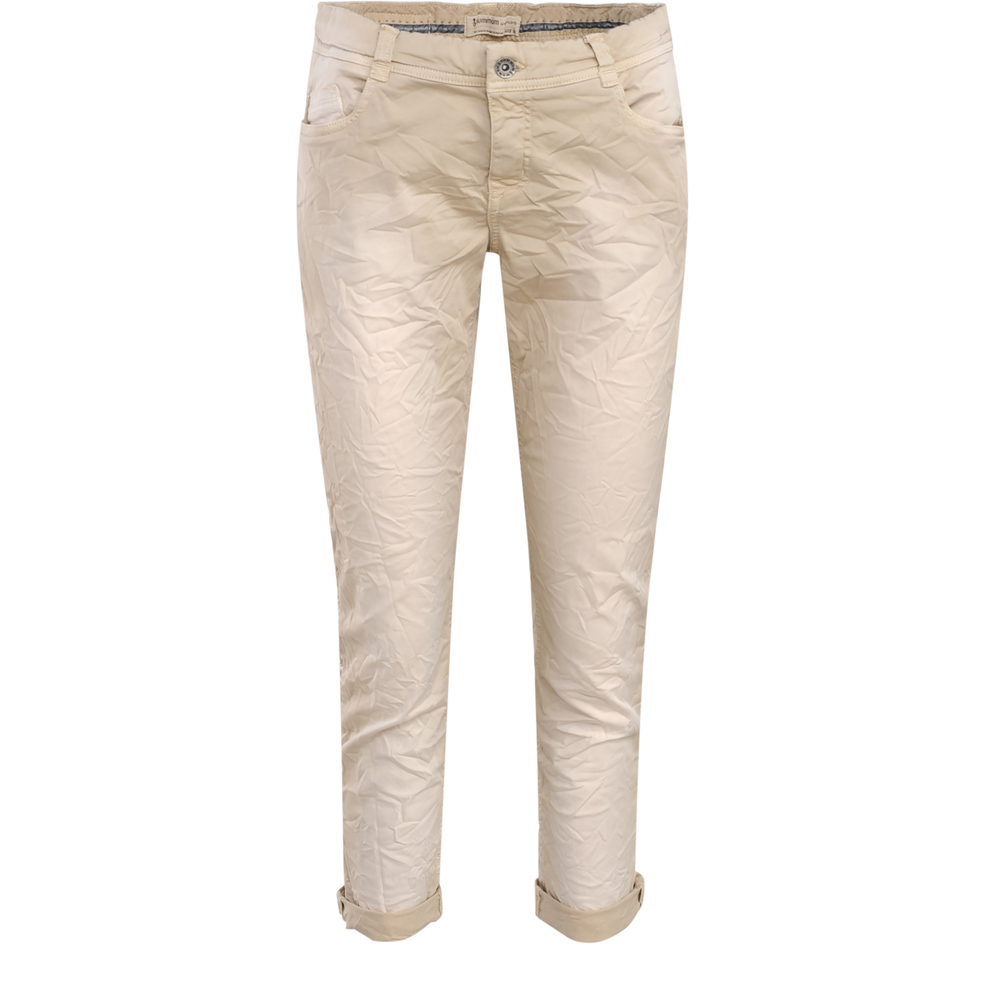 Twill trousers with piping