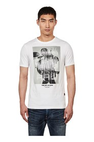 G-STAR D15632 336 GRAPHIC 1 T SHIRT AND TANK Men WHITE