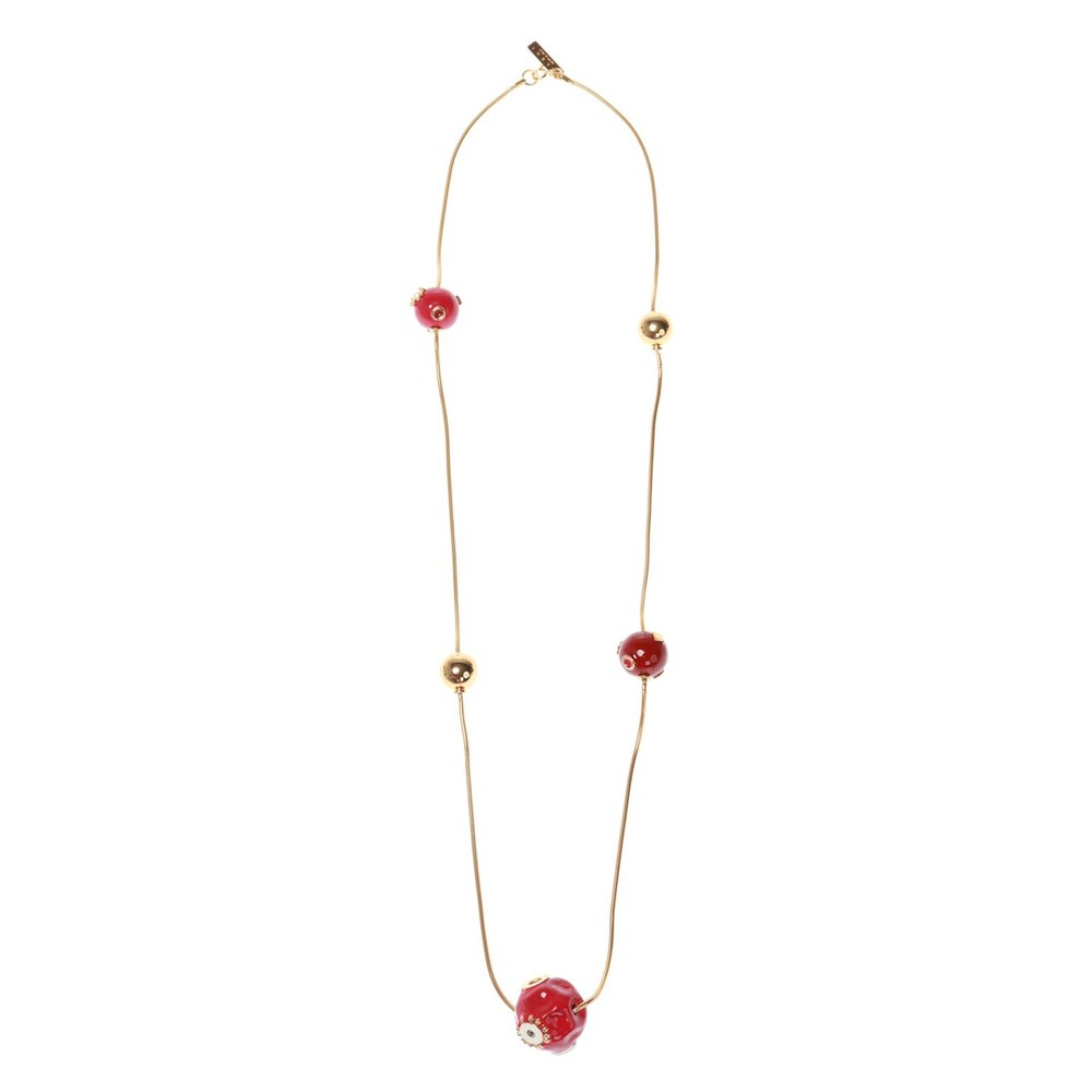 Marni gold Necklace with round charms Marni
