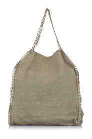 Falabella Fold-Over Canvas Tote Bag