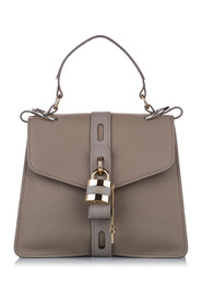 Medium Aby Leather Satchel